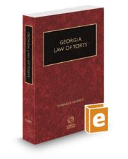 Georgia Law of Torts, 2016-2017 ed.