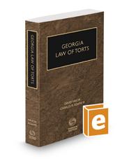 Georgia Law of Torts, 2020-2021 ed.