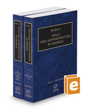 Redfearn Wills and Administration in Georgia, 2019-2020 ed.