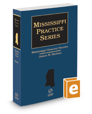 Mississippi Chancery Practice, 2016 ed.
