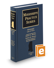 Mississippi Law of Torts, 2d (Mississippi Practice Series)