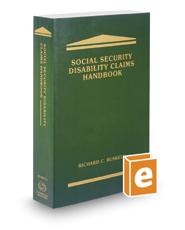 Social Security Disability Claims Handbook, 2017 ed.