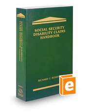 Social Security Disability Claims Handbook, 2018 ed.