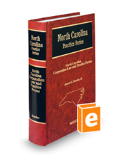 North Carolina Corporation Law and Practice Forms, 4th (North Carolina Practice Series)