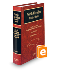North Carolina Corporation Law and Practice, 4th (North Carolina Practice Series)