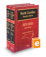 North Carolina Law of Damages, 5th (North Carolina Practice Series)