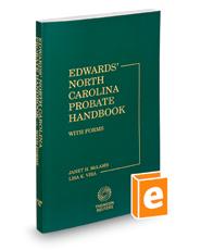 Edwards' North Carolina Probate Handbook, 2015-2016 ed.
