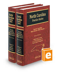 North Carolina Real Estate with Forms, 3d (North Carolina Practice Series)