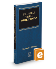 Federal Trial Objections, 6th