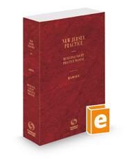 Municipal Court Practice Manual, 2021-2022 ed. (Vol. 51, New Jersey Practice Series)