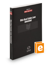 Ohio Real Estate Laws Annotated, 2018 ed.