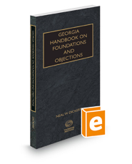 Georgia Handbook on Foundations and Objections, 2018 ed.