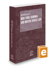 McKinney's New York Criminal and Motor Vehicle Law, 2017 ed.