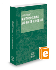 McKinney's New York Criminal and Motor Vehicle Law, 2018 ed.