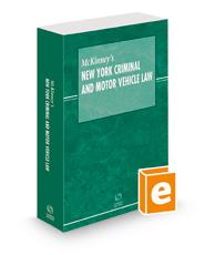 McKinney's New York Criminal and Motor Vehicle Law, 2021 ed.