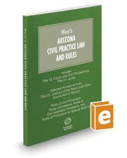 Arizona Civil Practice Law and Rules, 2021 ed.