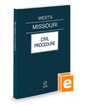 West's® Missouri Civil Procedure, 2016 ed.