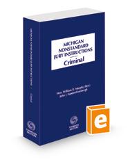 Michigan Nonstandard Criminal Jury Instructions, 2021 ed.