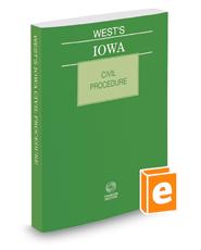 West's Iowa Civil Procedure, 2016 ed.