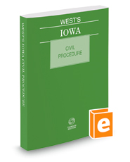 West's Iowa Civil Procedure, 2018 ed.