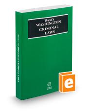 West's® Washington Criminal Laws, 2016 ed.