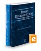 Idaho Rules of Court - State and Federal, 2020 ed. (Vols. I & II, Idaho Court Rules)