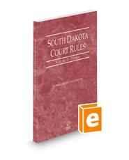 South Dakota Court Rules - Federal, 2021 ed. (Vol. II, South Dakota Court Rules)