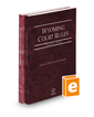 Wyoming Court Rules - State and Federal, 2021 ed. (Vol. I & II, Wyoming Court Rules)