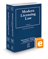 Modern Licensing Law, 2015-2016 ed.