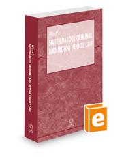 West's South Dakota Criminal and Motor Vehicle Law, 2021 ed.