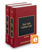 New York Contract Law, 2d (Vols. 28-28A, New York Practice Series)