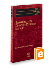 Bankruptcy and Domestic Relations Manual, 2020-2021 ed.