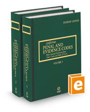California Penal and Evidence Codes, 2022 ed. (California Desktop Codes)