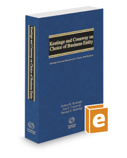 Keatinge and Conaway on Choice of Business Entity: Selecting Form and Structure for a Closely-Held Business, 2020 ed.