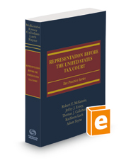 Representation Before the United States Tax Court, 2020-2021 ed.