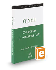 California Confessions Law, 2017-2018 ed. (The Expert Series)
