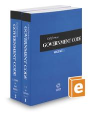 California Government Code, 2018 ed. (California Desktop Codes)