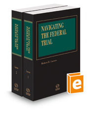 Navigating the Federal Trial, 2020 ed.
