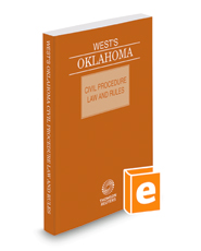West's Oklahoma Civil Procedure Law and Rules, 2018 ed.