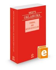 West's Oklahoma Criminal and Motor Vehicle Law, 2021 ed.