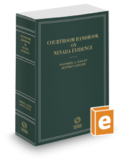 Courtroom Handbook on Nevada Evidence, 2019 ed.