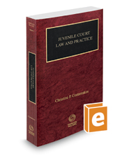 Juvenile Court Law and Practice, 2017-2018 ed. (Vol. 4, Nebraska Practice Series)