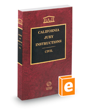 California Jury Instructions—Civil (BAJI)