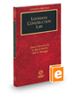 Louisiana Construction Law, 2016 ed. (Louisiana Practice Series)