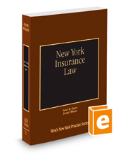 New York Insurance Law, 2015-2016 ed. (Vol. 31, New York Practice Series)