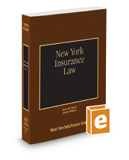 New York Insurance Law, 2016-2017 ed. (Vol. 31, New York Practice Series)