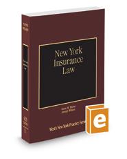 New York Insurance Law, 2019-2020 ed. (Vol. 31, New York Practice Series)