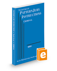 Tenth Circuit Pattern Jury Instructions—Criminal, 2d (Federal Jury Practice and Instructions)