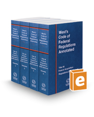 West's Code of Federal Regulations Annotated Title 48 Federal Acquisition Regulations System, 2017 ed.