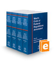 West's Code of Federal Regulations Annotated Title 48 Federal Acquisition Regulations System, 2018 ed.